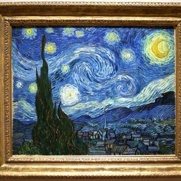 Ѕвездената ноќ - Винсент ван Гог