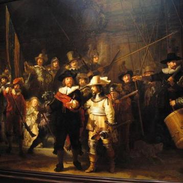 Ноќна стража - Рембрант ван Рејн