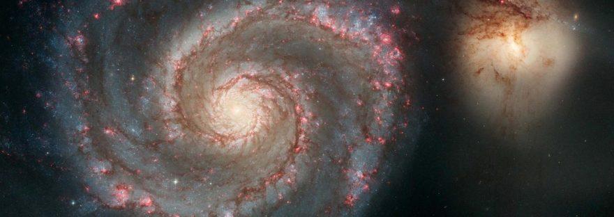 #АстроФотоНаДенот - Галаксијата Вртлог и нејзиниот сопатник