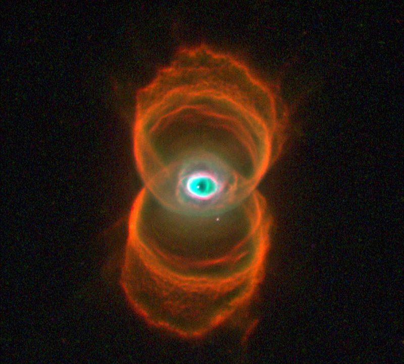 #АстроФотоНаДенот - Планетарната маглина Песочен Часовник