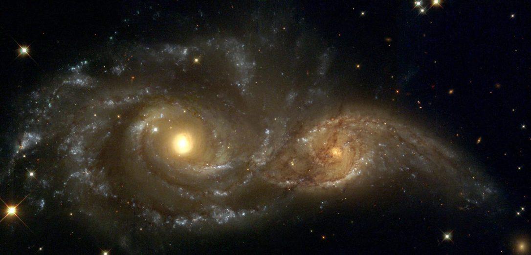 #АстроФотоНаДенот - Две светли очи на темното ноќно небо