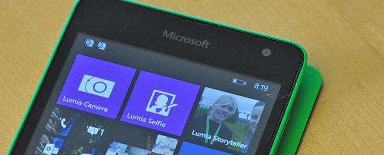 Збогум Нокиа, добредојде Мајкрософт Лумиа