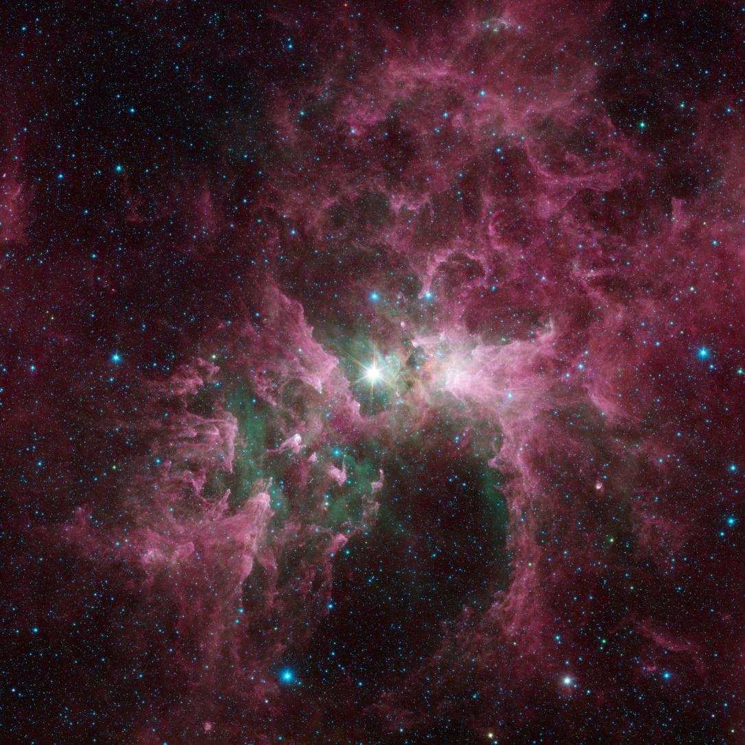 #АстроФотоНаДенот - Разорната моќ на масивните ѕвезди