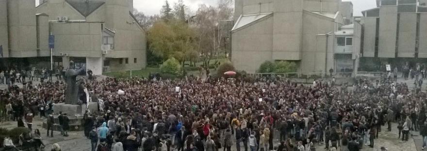 #СтудентскиМарш - Биди промената која сакаш да ја видиш во Македонија!