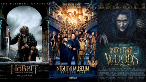 Топ 3 филмови кои излегуваат во декември