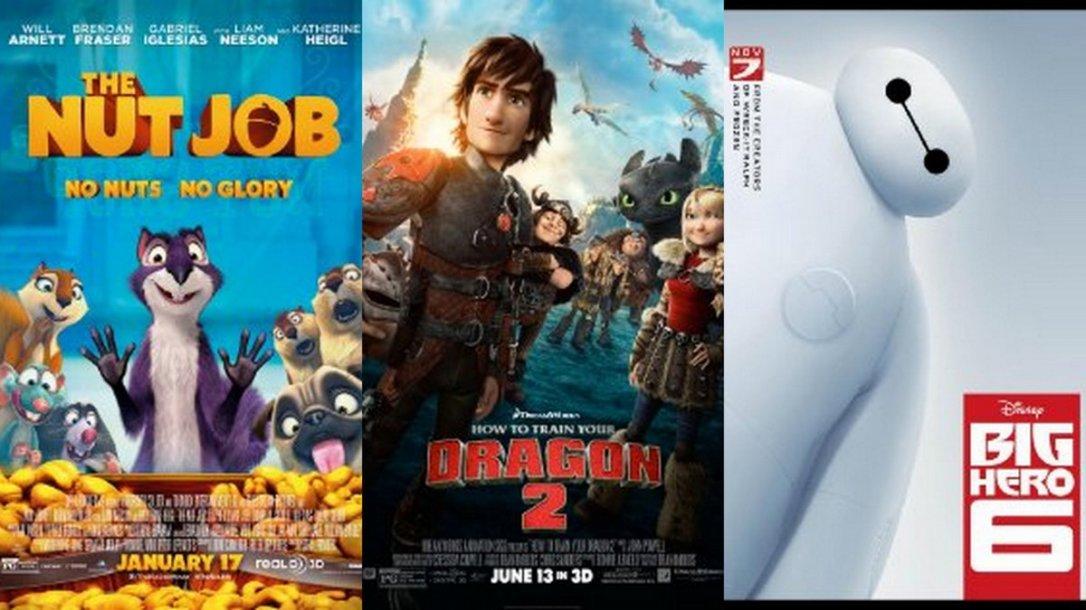 Топ 3 анимирани филмови од 2014 година