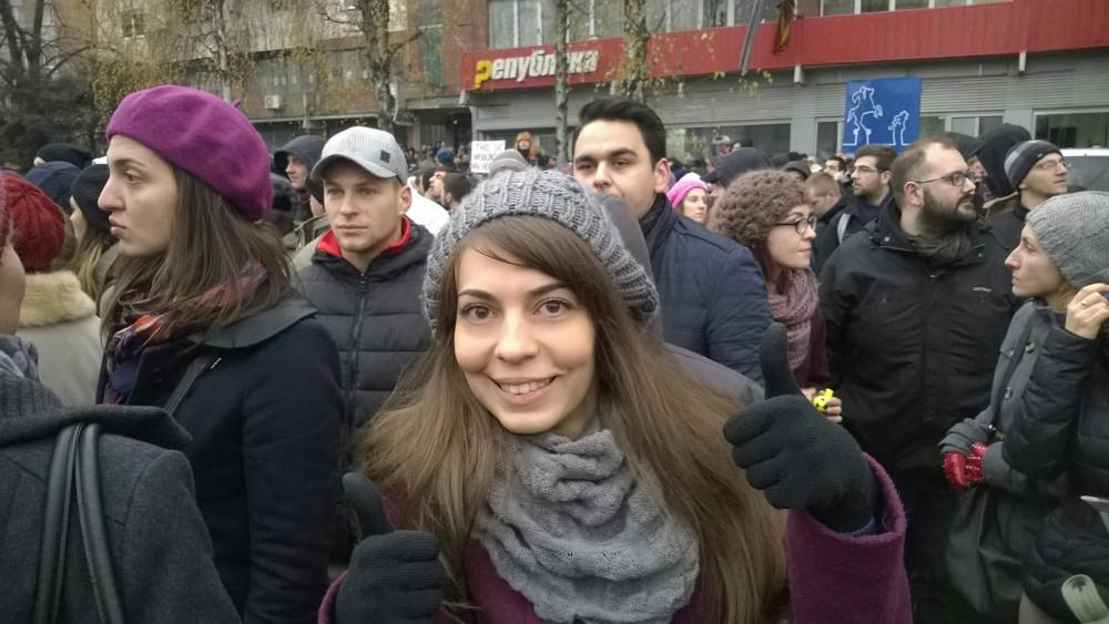 Трет #СтудентскиМарш - Во центарот на настаните