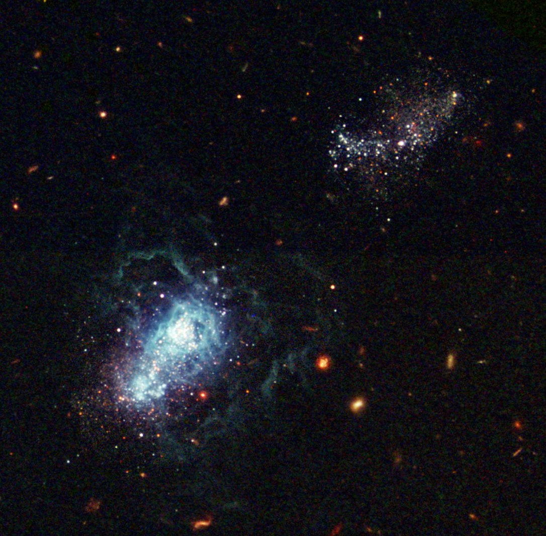 #АстроФотоНаДенот - Најмладата галаксија некогаш забележана