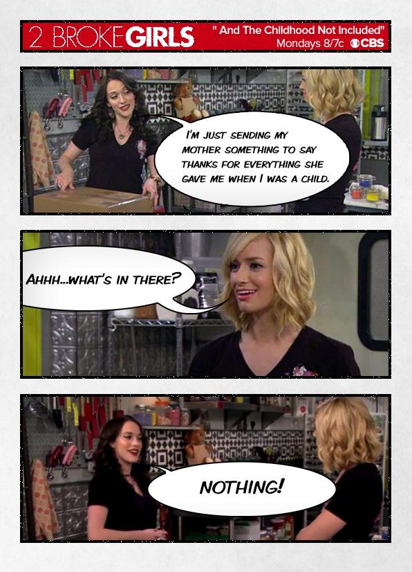 Стрипови од ТВ серијата #2BrokeGirls