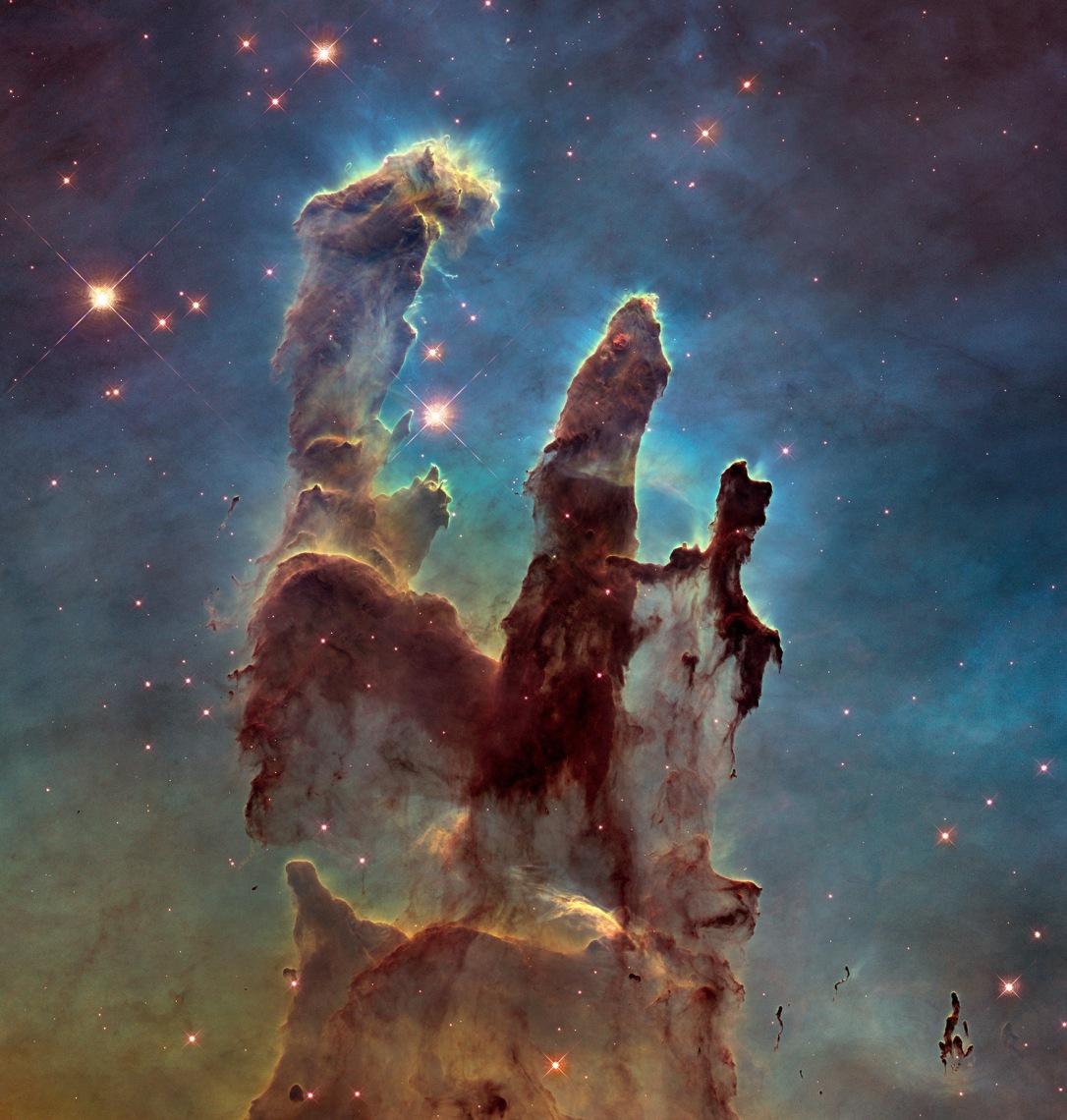 #АстроФотоНаДенот - Столбови на создавањето
