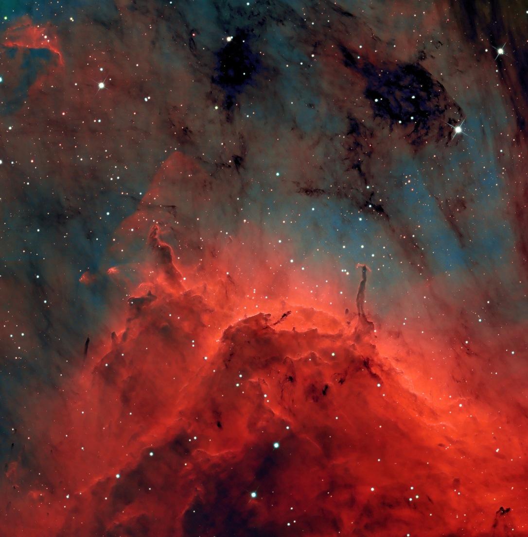 #АстроФотоНаДенот - Црвената боја на маглината Пеликан