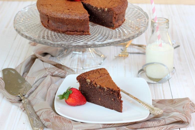Безглутенска чоколадна торта