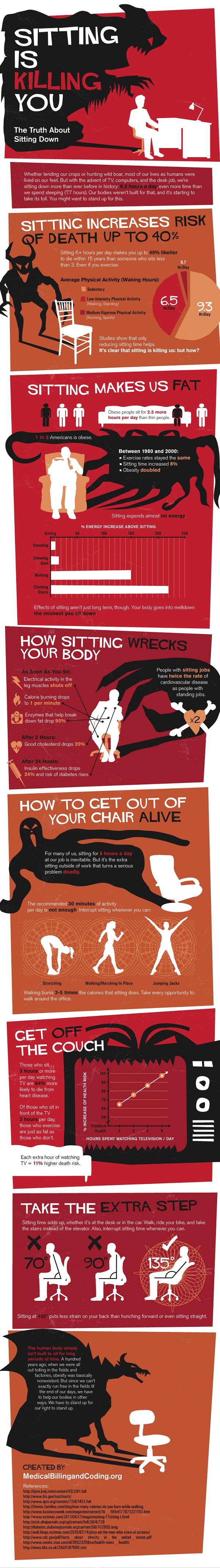 Начинот на кој седењето секојдневно ве убива