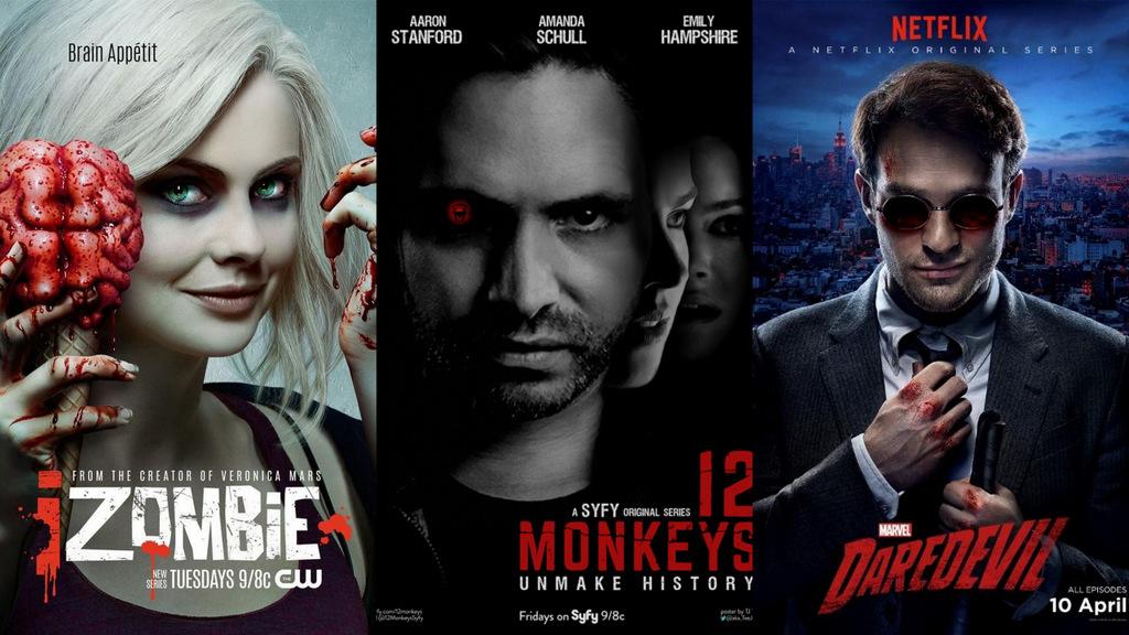 Топ 3 ТВ серии од 2015 година