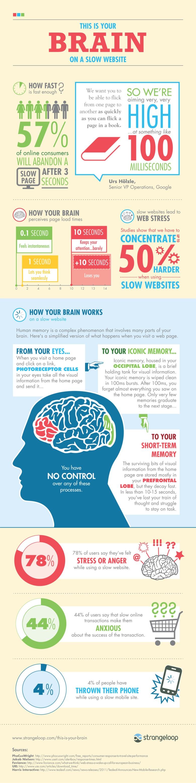 Како изгледа вашиот мозок кога посетувате бавен веб-сајт?