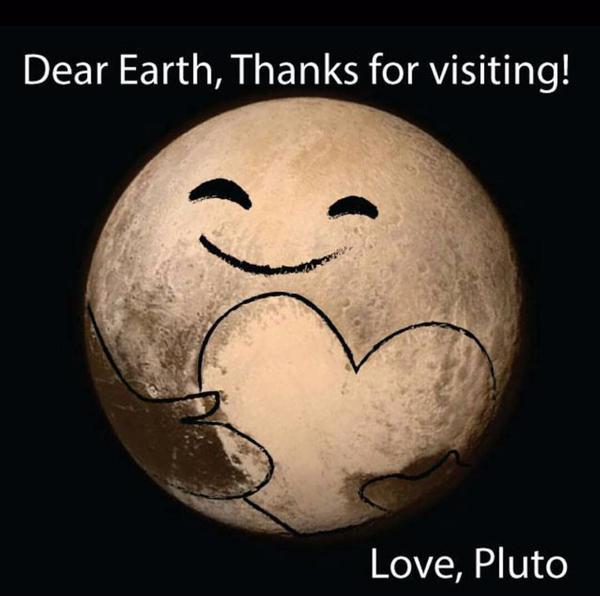 (2) Интернет сцената му посака добредојде на Плутон со неколку Фотошоп ремек-дела