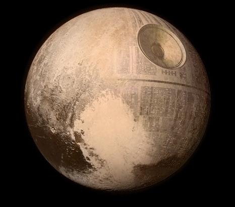(7) Интернет сцената му посака добредојде на Плутон со неколку Фотошоп ремек-дела