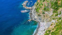 Sirmione beach, Lombardy