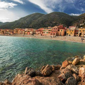 Saraceni bay , Varigotti, Liguria