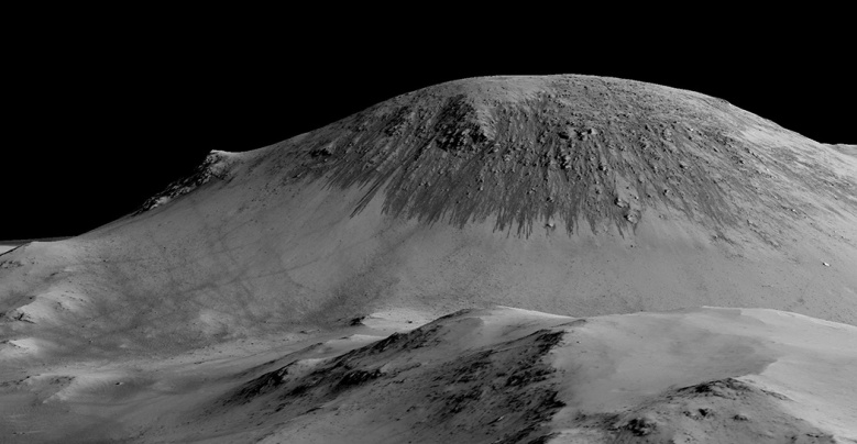 (1) Овие фотографии се цврст доказ дека на Марс постои солена вода во течна форма