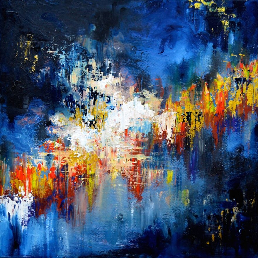 """(3) Артистка со синестезија преку цртежи ни покажува како ги """"гледа"""" познатите песни"""