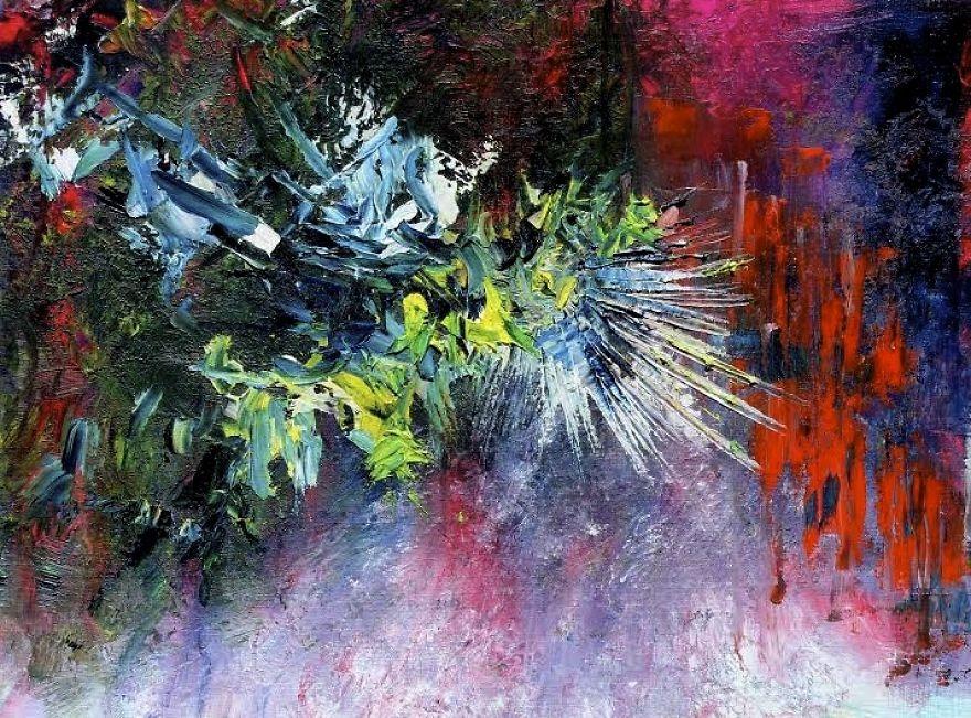 """(5) Артистка со синестезија преку цртежи ни покажува како ги """"гледа"""" познатите песни"""