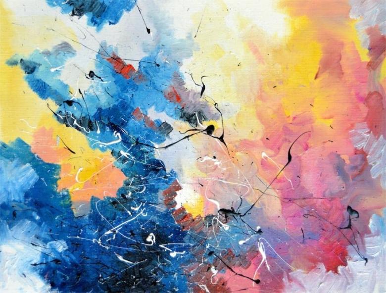 """(6) Артистка со синестезија преку цртежи ни покажува како ги """"гледа"""" познатите песни"""
