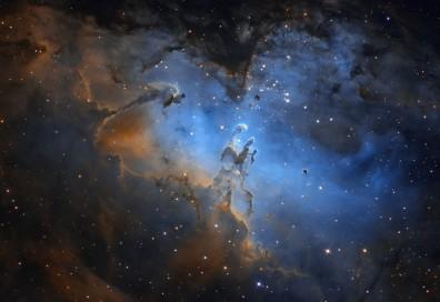 Маглината Орел будно го штити ноќното небо