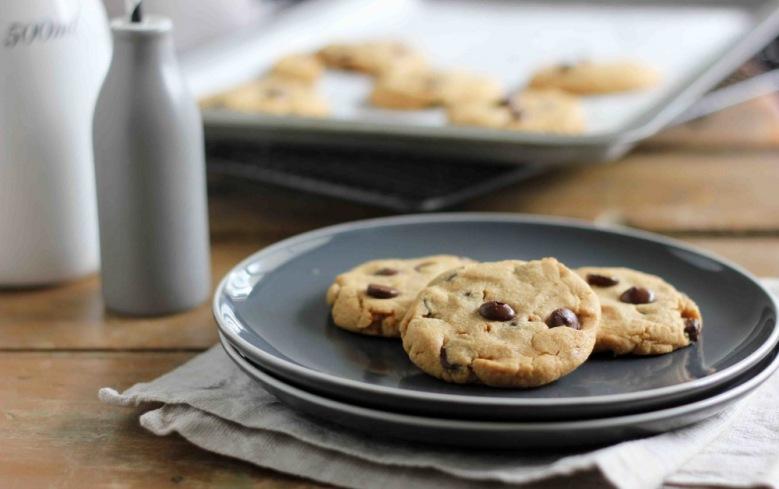 Безглутенски чоколадни колачиња со путер од кикирики