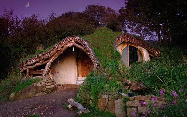 Куќи од бајките кои можете да ги најдете на планетата Земја