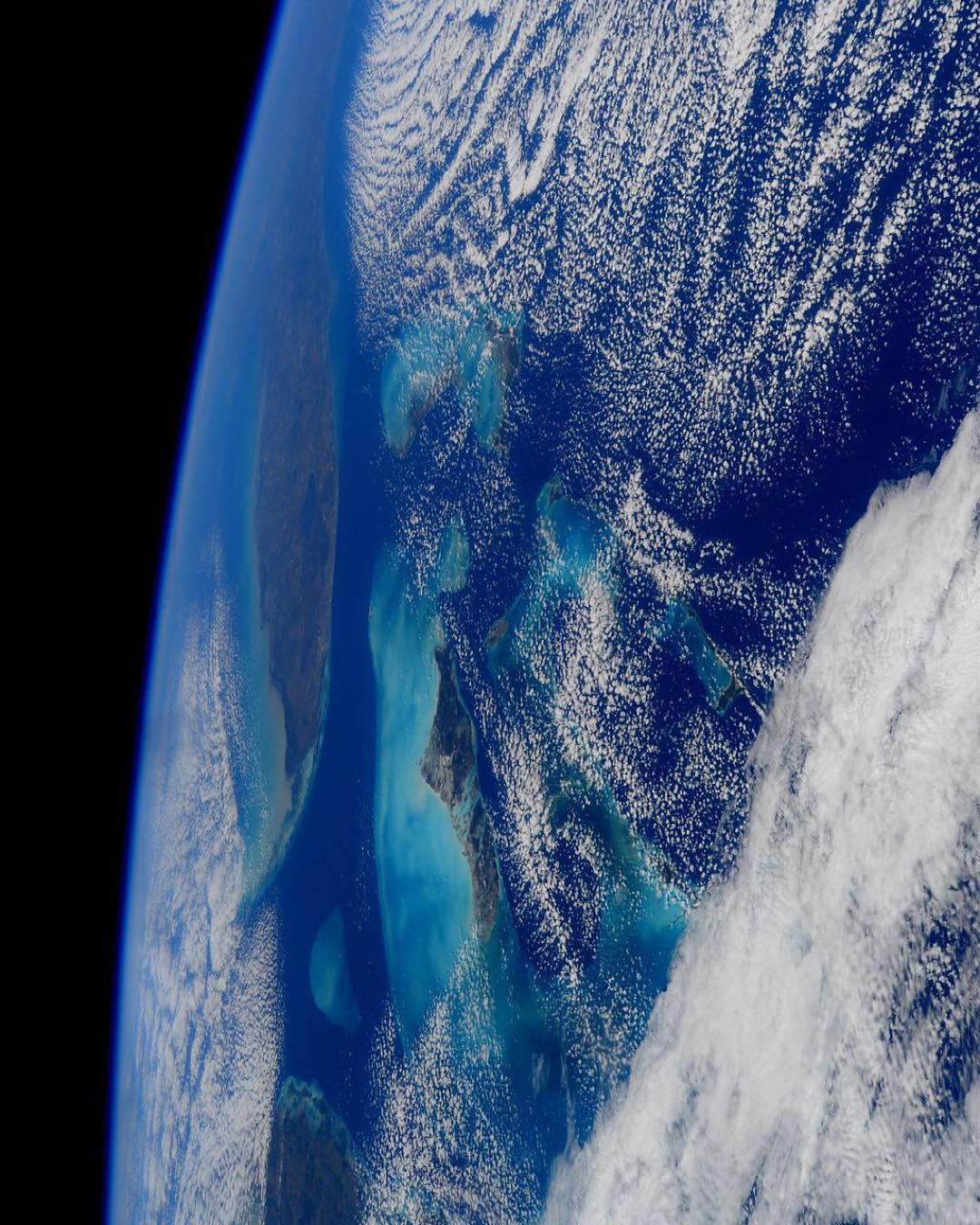 Поглед кон Земјата од Меѓународната вселенска станица