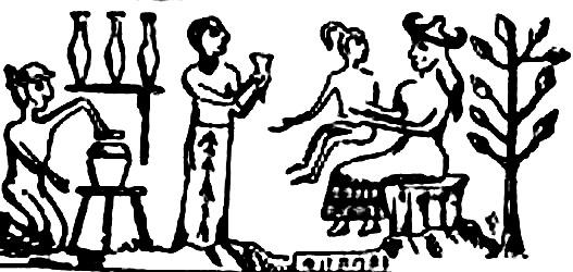 (2) Потеклото на човекот според античките текстови на Сумерите