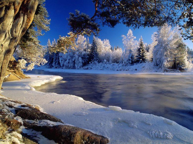 (20) Најубавите снежни десктоп позадини за зимско освежување