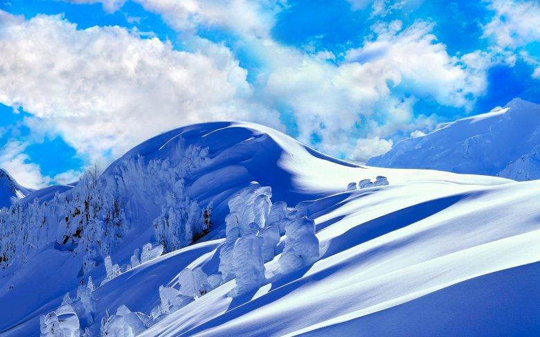 (29) Најубавите снежни десктоп позадини за зимско освежување