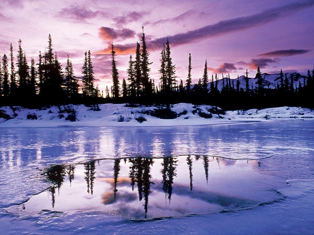 (9) Најубавите снежни десктоп позадини за зимско освежување
