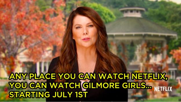 (2) Лорен Грејам го поканува целиот свет да ја гледа ТВ серијата #GilmoreGirls