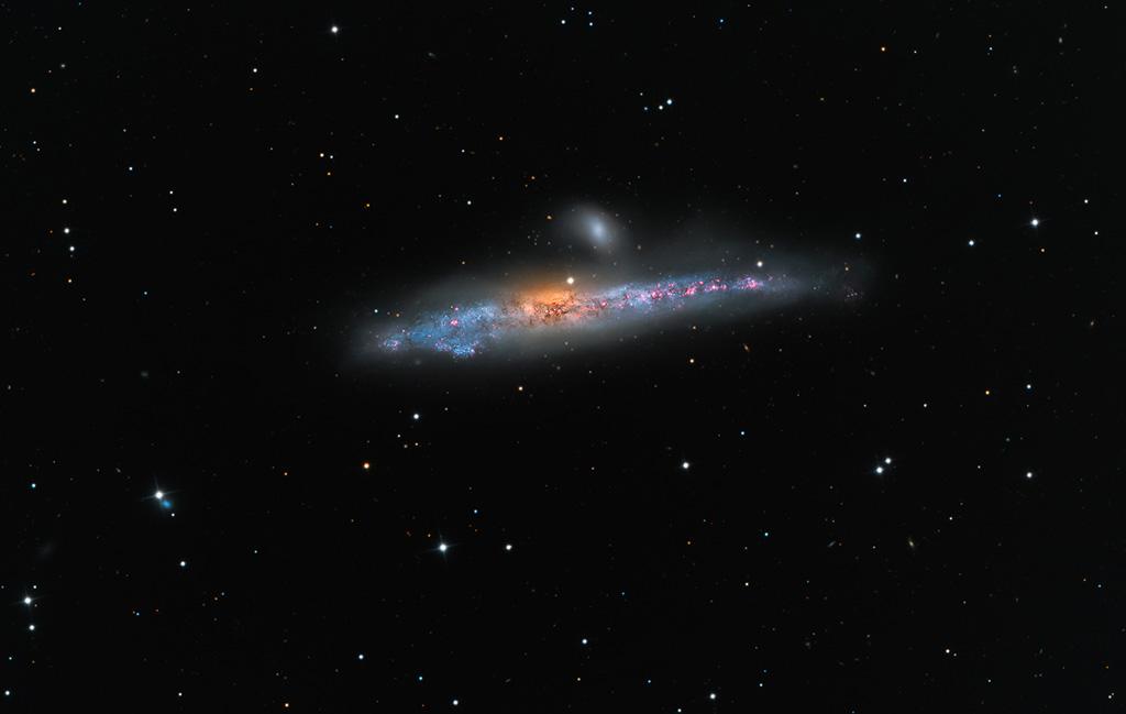#АстроФотоНаДенот – Галаксијата Кит