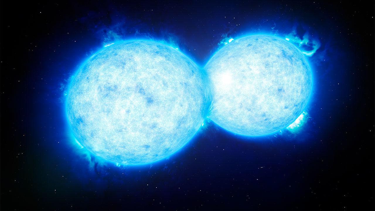 Во 2022 година небото ќе го осветли експлозија од судир на две ѕвезди