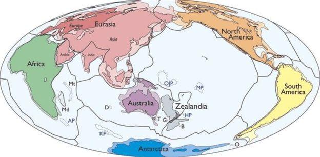 Зеландија: Новиот континент на планетата Земја