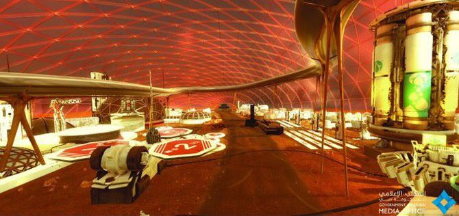 Обединетите Арапски Емирати планираат да изградат град на Марс до 2117 година