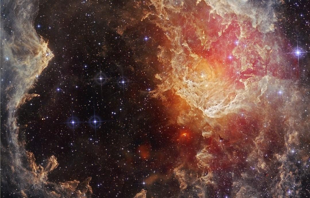#АстроФотоНаДенот – Ѕвезди и столбови од прашина набљудувани во инфрацрвена светлина