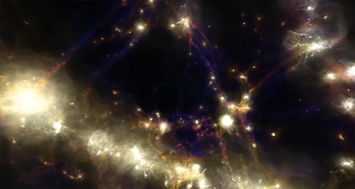 Формирање на галаксија во магнетен универзум