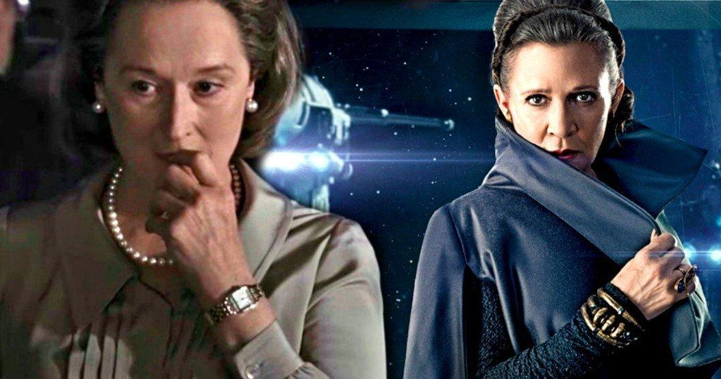 Мерил Стрип ќе ја замени Кери Фишер во улогата на принцезата Леа?